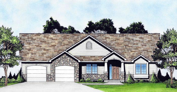 Traditional House Plan 62645 Elevation