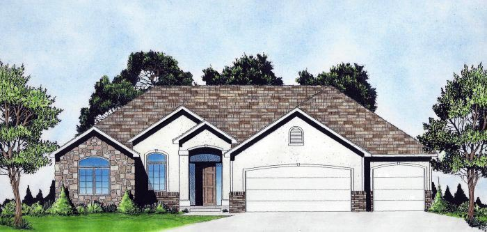 Traditional House Plan 62649 Elevation