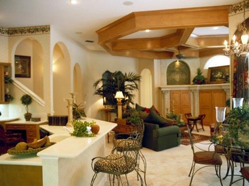 Florida Mediterranean House Plan 63021