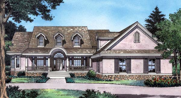 Country Southern House Plan 63062 Elevation