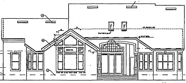 Country Southern House Plan 63062 Rear Elevation