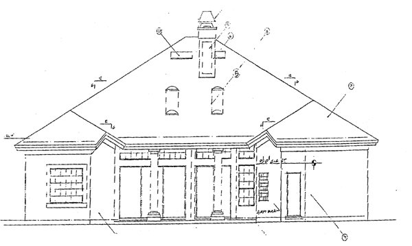 Florida Mediterranean House Plan 63065 Rear Elevation