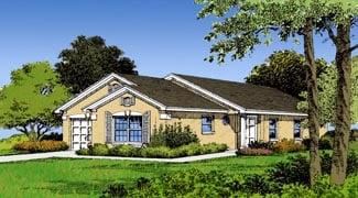Florida House Plan 63168 Elevation