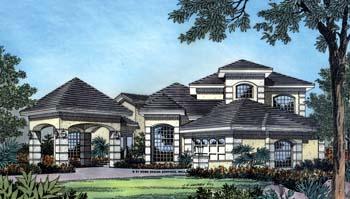 Mediterranean House Plan 63181 Elevation