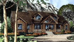 Country House Plan 63190 Elevation