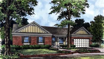 Country Farmhouse Florida Traditional House Plan 63193 Elevation