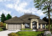 Plan Number 63198 - 1550 Square Feet