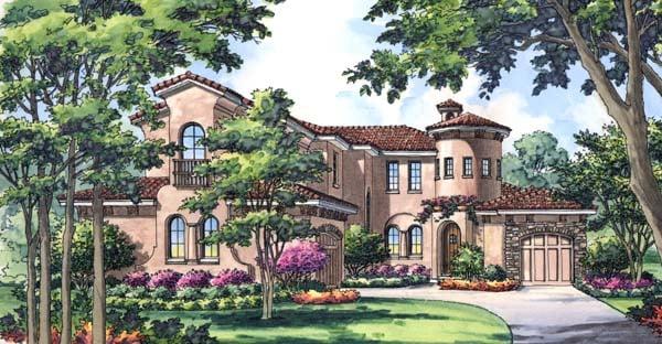 House Plan 63221 Elevation