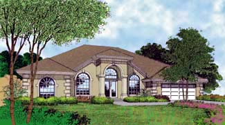 OneStory House Plan 63247