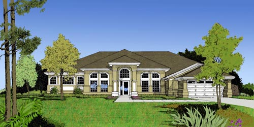 OneStory House Plan 63320