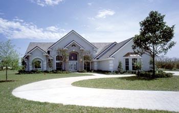 Florida Mediterranean Traditional House Plan 63337 Elevation