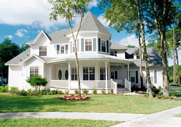 Cottage Southern Traditional Victorian House Plan 63340 Elevation