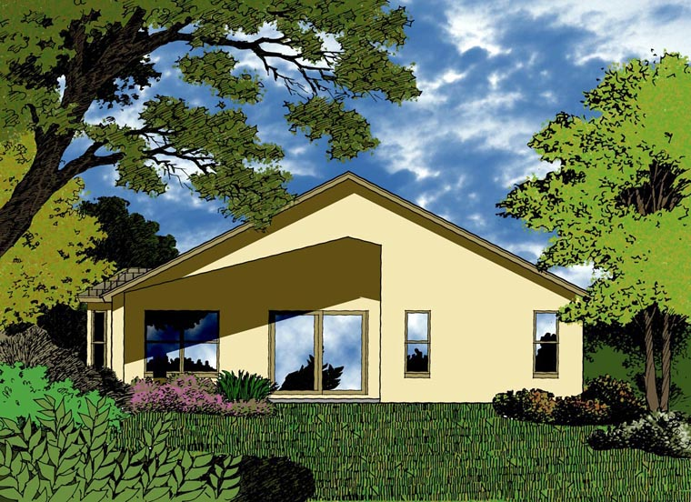 Country Traditional House Plan 63386 Elevation