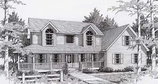 Country House Plan 63516