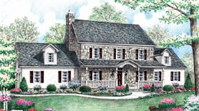 Plan Number 64404 - 2764 Square Feet