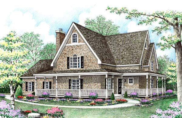 Craftsman House Plan 64409 Elevation