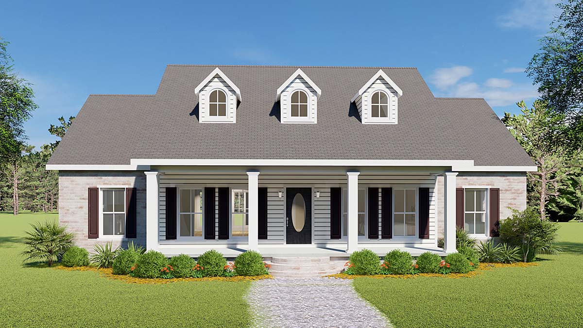 Magnificent House Plan 64501 Order Code 03Web At Familyhomeplans Com Largest Home Design Picture Inspirations Pitcheantrous