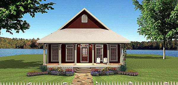 Country House Plan 64567 Elevation