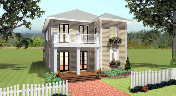 Traditional House Plan 64580 Elevation