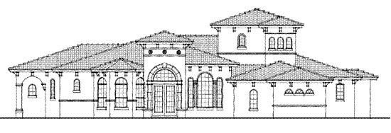Florida Mediterranean House Plan 64645 Elevation