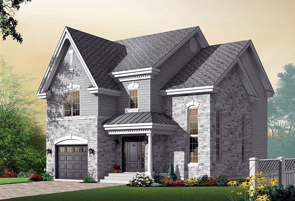 Traditional House Plan 64803 Elevation