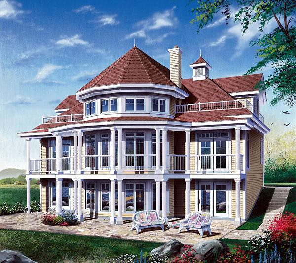 House Plan 64807 At Familyhomeplans.Com