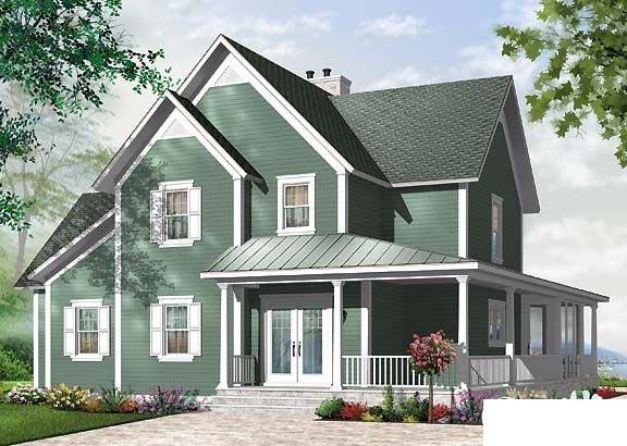 Florida House Plan 64812 Rear Elevation