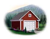 Garage Plan 64833