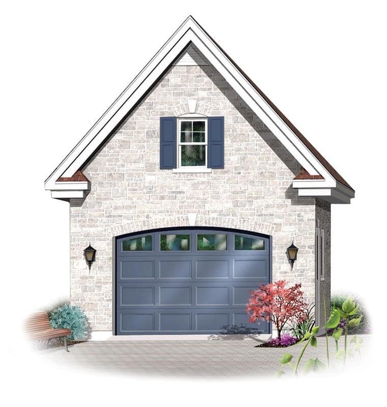 Garage Plan 64835 Elevation