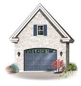 Garage Plan 64835