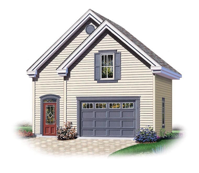 Garage Plan 95826 At Familyhomeplans Com: Garage Plan 64838 At FamilyHomePlans.com