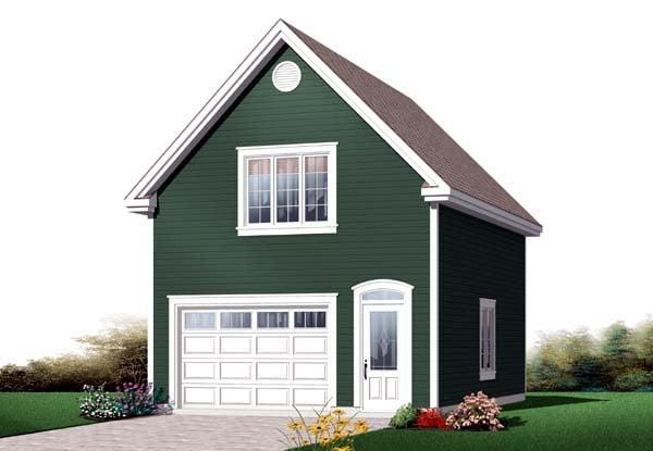 Garage Plan 64844 Elevation