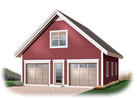 Garage Plan 64868