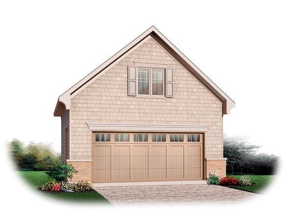 Garage Plan 64869 Elevation