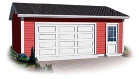 Garage Plan 64878