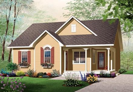 House Plan 64890