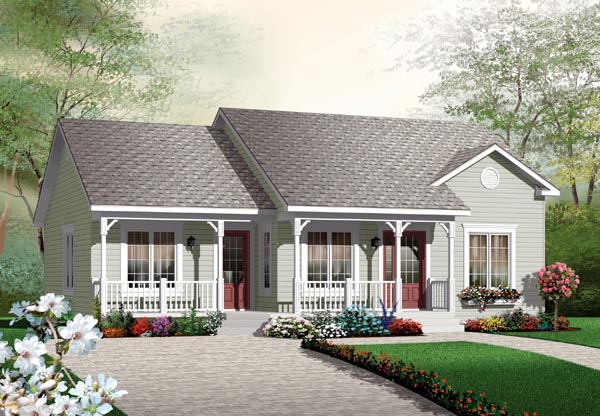 Traditional House Plan 64891
