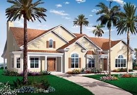 House Plan 64893