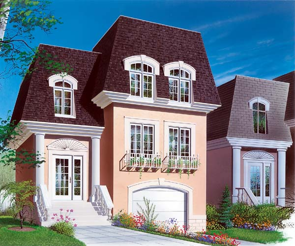 House Plan 64928 Elevation