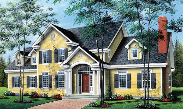House Plan 64939 Elevation