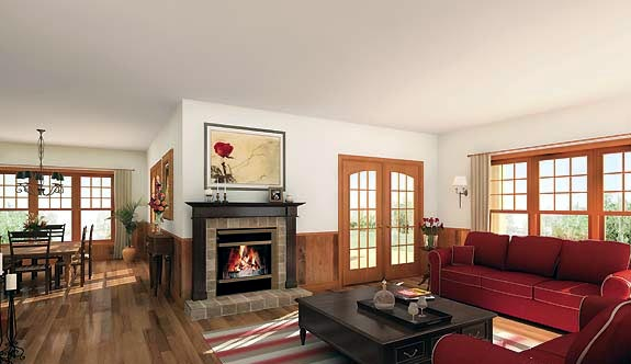Country, Farmhouse House Plan 64980 with 4 Beds, 4 Baths, 3 Car Garage Picture 1