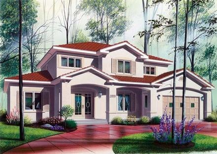 House Plan 64984