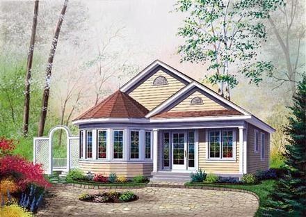 House Plan 64992