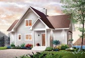 Plan Number 65001 - 1480 Square Feet