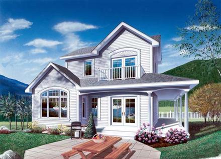 House Plan 65013