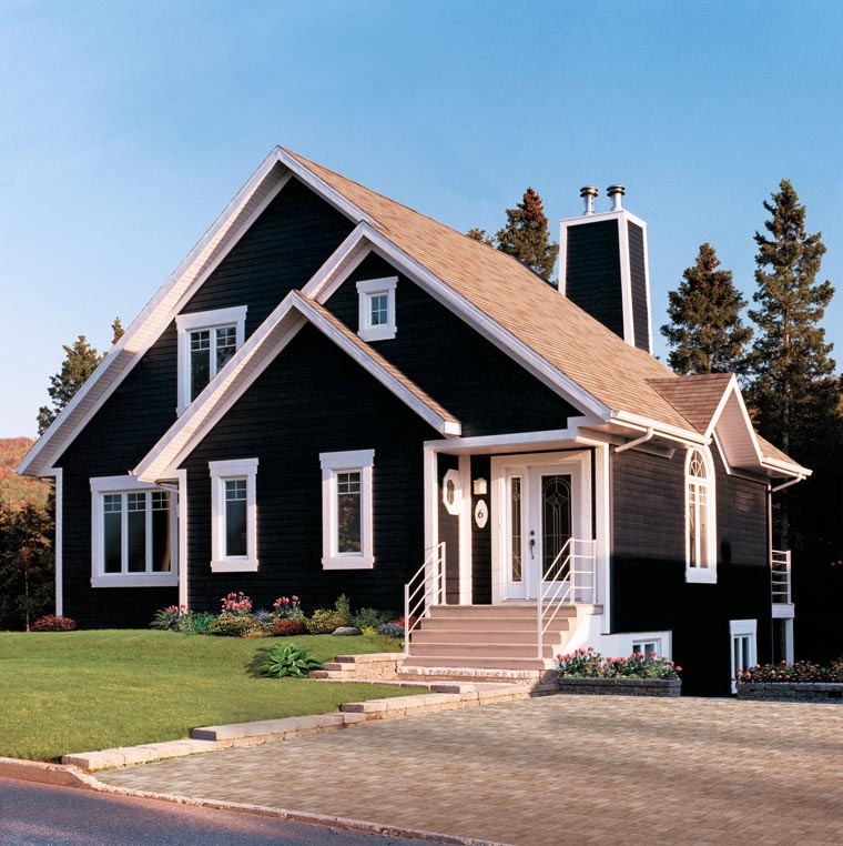 Bungalow, Contemporary, Victorian House Plan 65015 with 3 Beds, 2 Baths Picture 4