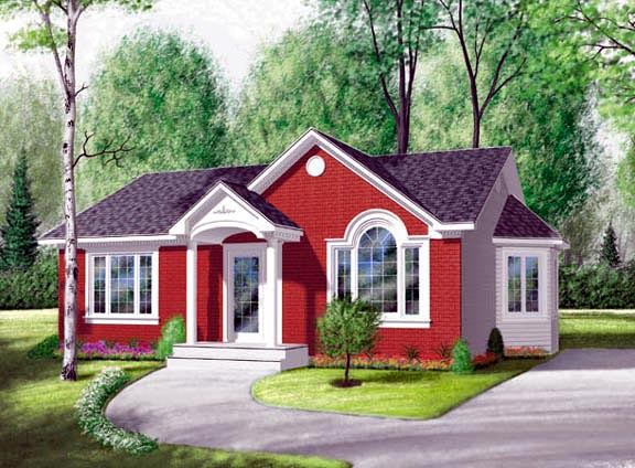Traditional House Plan 65030