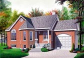 Plan Number 65036 - 1012 Square Feet