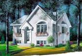 Plan Number 65037 - 1146 Square Feet