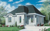 Plan Number 65040 - 958 Square Feet
